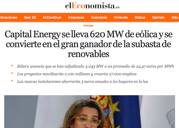 subasta energías renovables febrero 2021 Bas Corporation